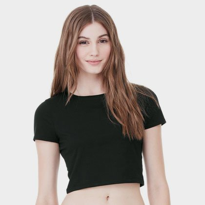 7280ab0b766bb8 Custom Crop Tops. Personalized Cropped Tanks.