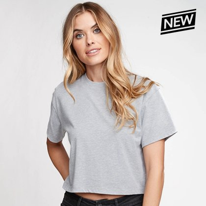 Relaxed Ideal Crop Tee