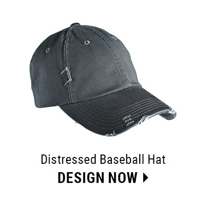 Custom Distressed Baseball Hat