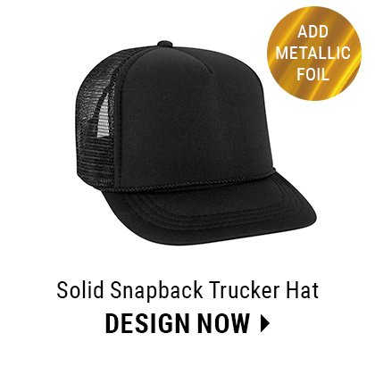Custom Vinyl Film Trucker Hat