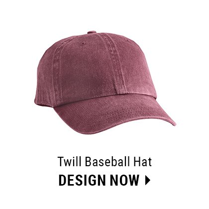 Custom Twill Baseball Hat