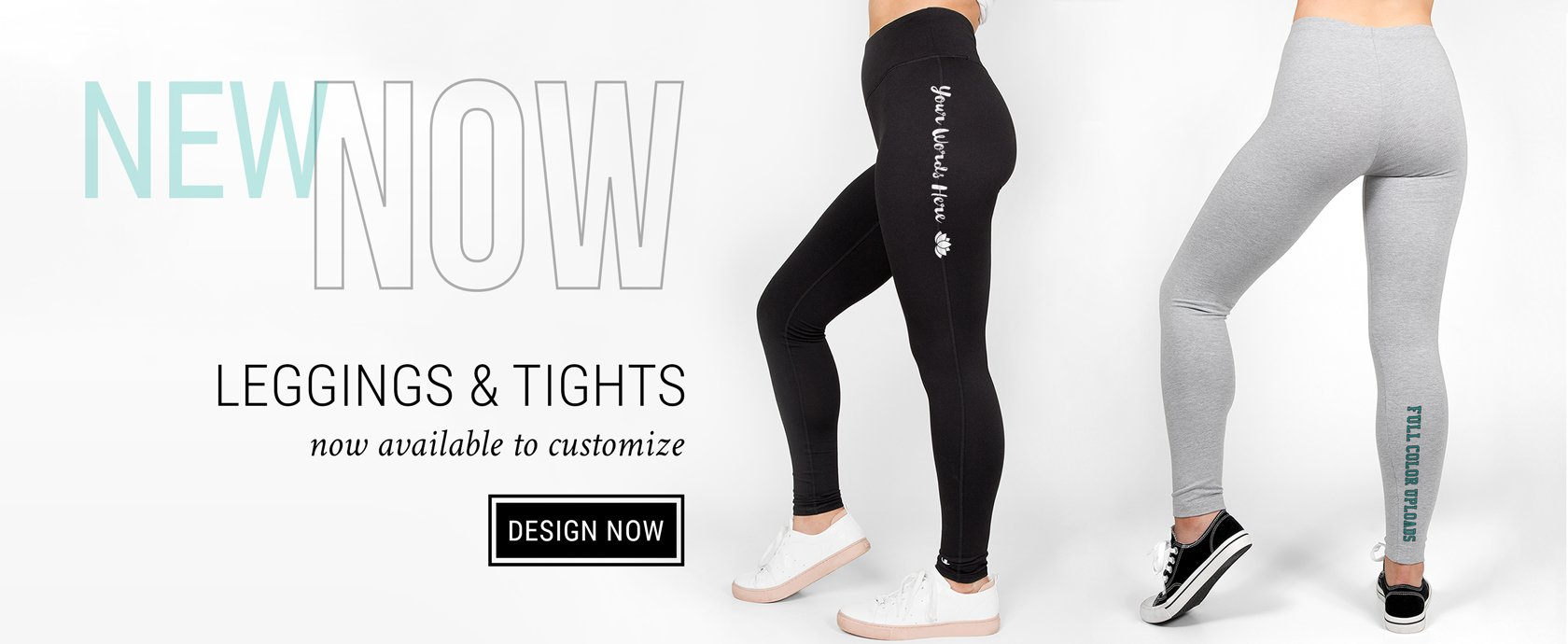 Create Your Own Custom Leggings And Performance Tights