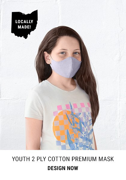 Youth 2 Ply Cotton Premium Mask