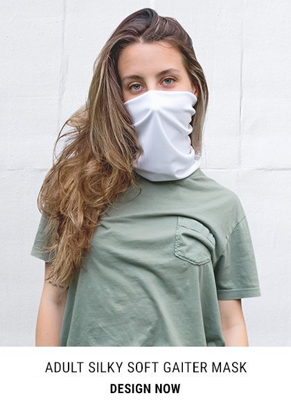 Adult Silky Soft Gaiter Mask Buff