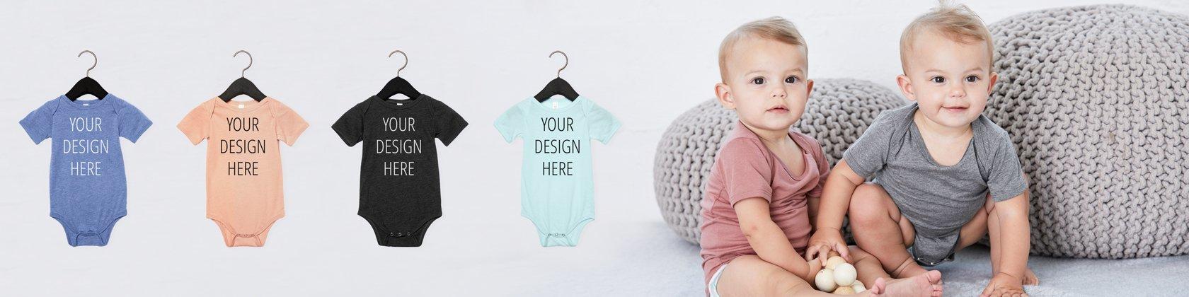 a06e7ab745e27 Custom Onesies, Personalized Baby Bodysuits