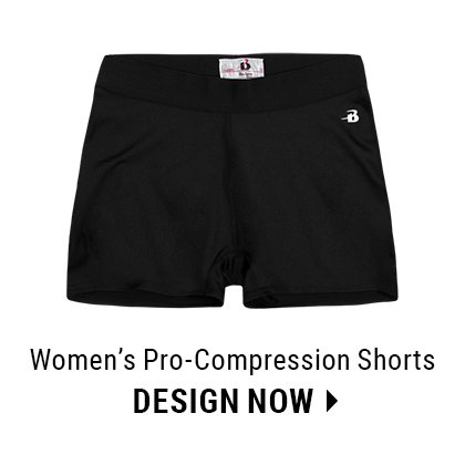 Custom Women's Compression Shorts