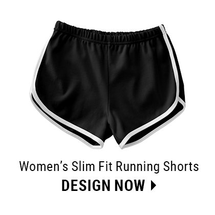 Custom Women's Slim Fit Running Shorts