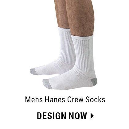 Custom Men's Crew Socks