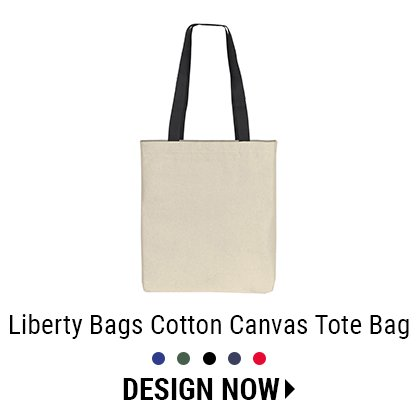 Custom Cotton Canvas Tote Bag