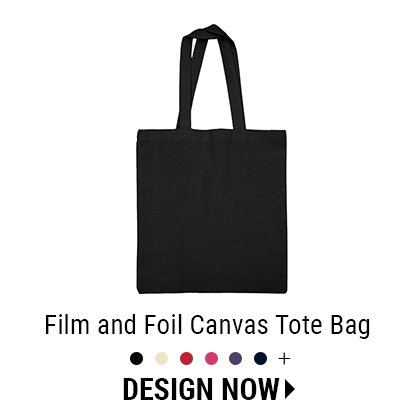Custom Film & Foil Tote Bag