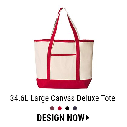 Custom Large Deluxe Tote