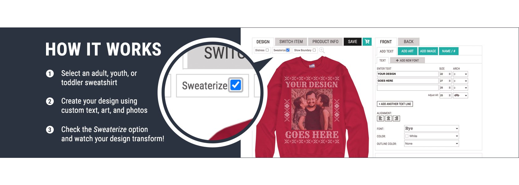 How To Use The Sweaterize It! Knit Filter