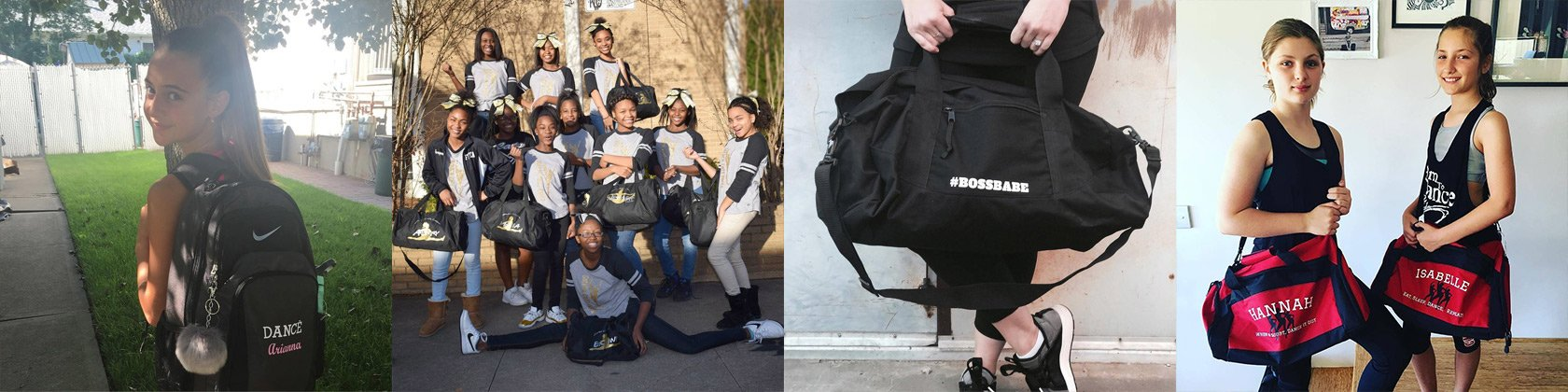 ef4575ad37cb Custom Dance Bags, Personalized Dance Duffel Bags
