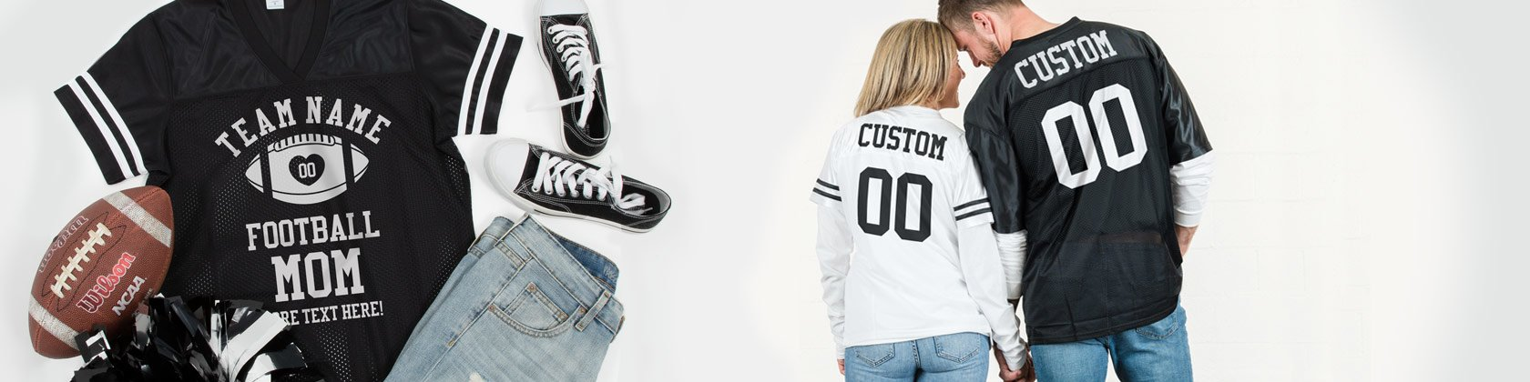 Custom Football Jerseys for Moms and Dads