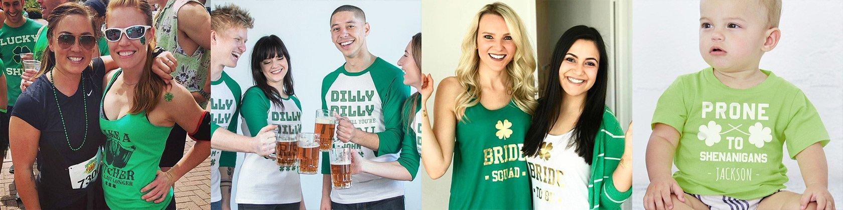 Custom St Patricks Day Shirts