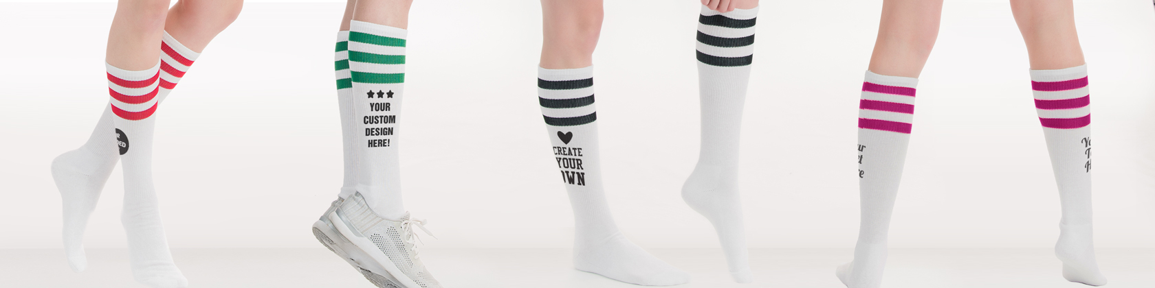 ac17af0ef Custom socks! Add your own text and art to these personalized socks.