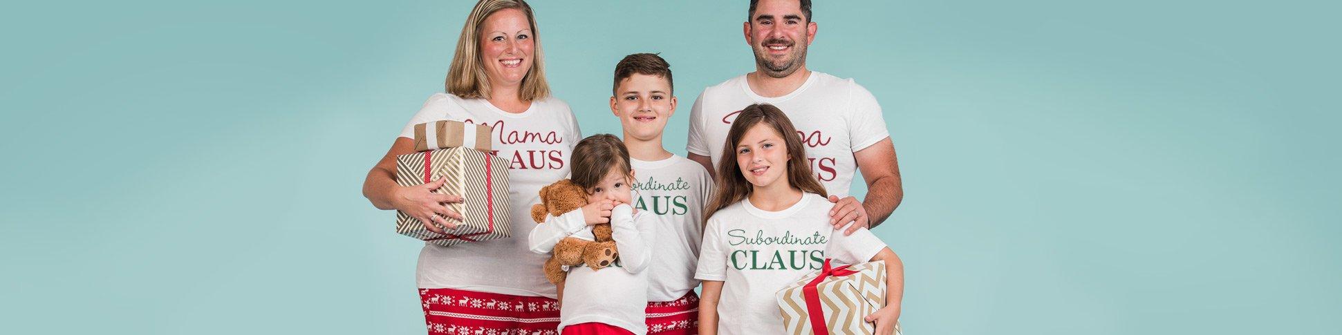 Custom Pajamas Subordinate Claus