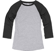 Misses Relaxed Fit Vintage Raglan Tee