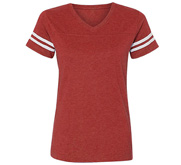 LAT Apparel Ladies Relaxed Fit Vintage Sports Tee