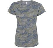 Misses Jersey Camo T-Shirt