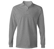 Unisex Jerzees Long Sleeve Polo Shirt