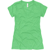 Ladies Slim Fit Triblend V-Neck T-Shirt