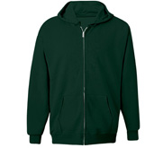 Unisex Hanes Ultimate Cotton Full Zip Hood