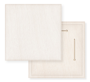 Laser Reproductions 12 x 12 Wood Photo Board Beveled Edge