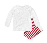 Rabbit Skins Infant Pajama 1x1 Rib Set