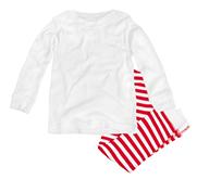 Rabbit Skins Toddler Pajama 1x1 Rib Set