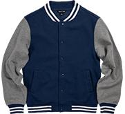 Unisex Fleece Letterman Varsity Jacket