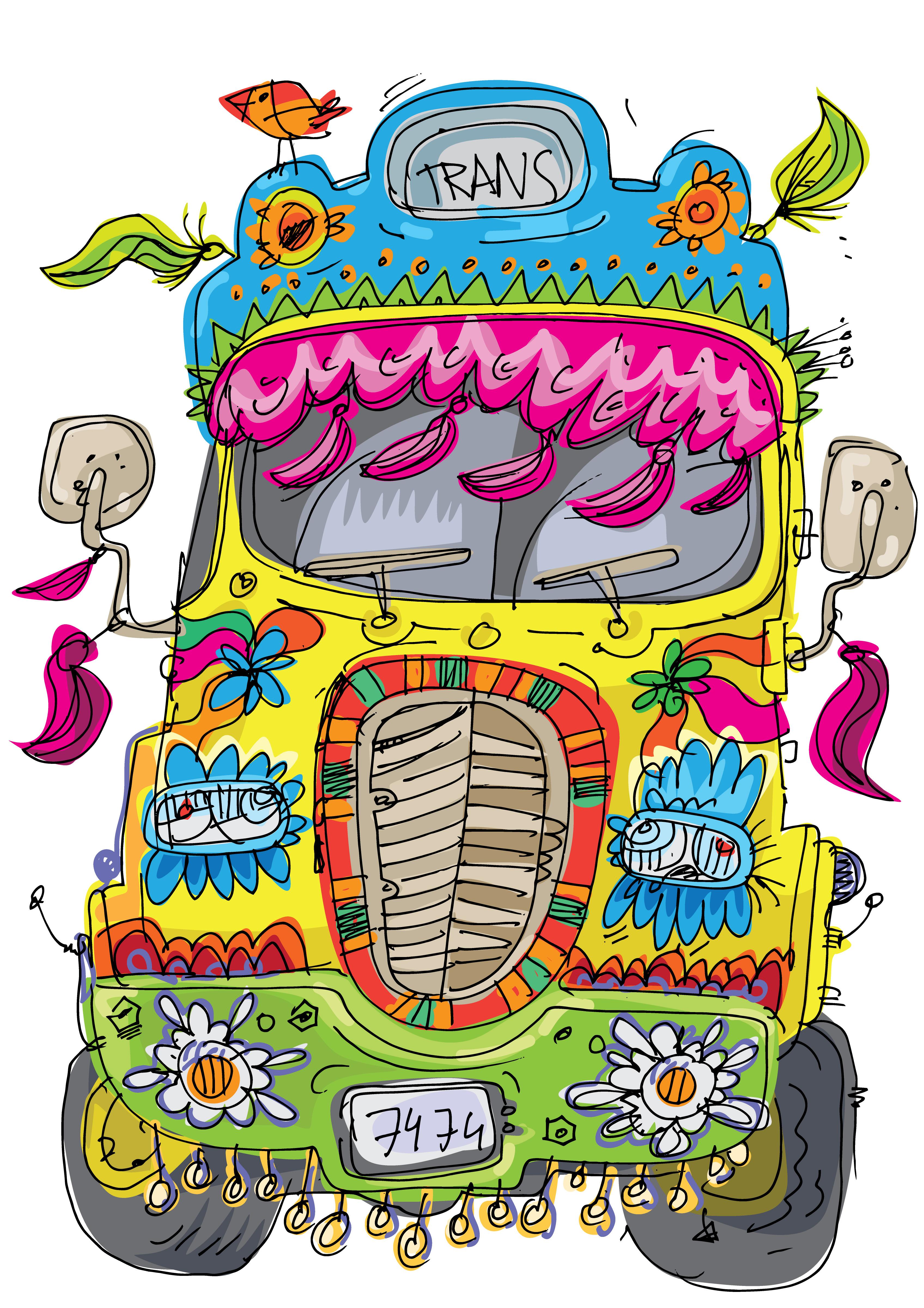 Happy Hippie Lane