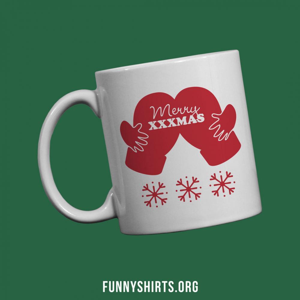 X-rated Coffee Christmas Ass