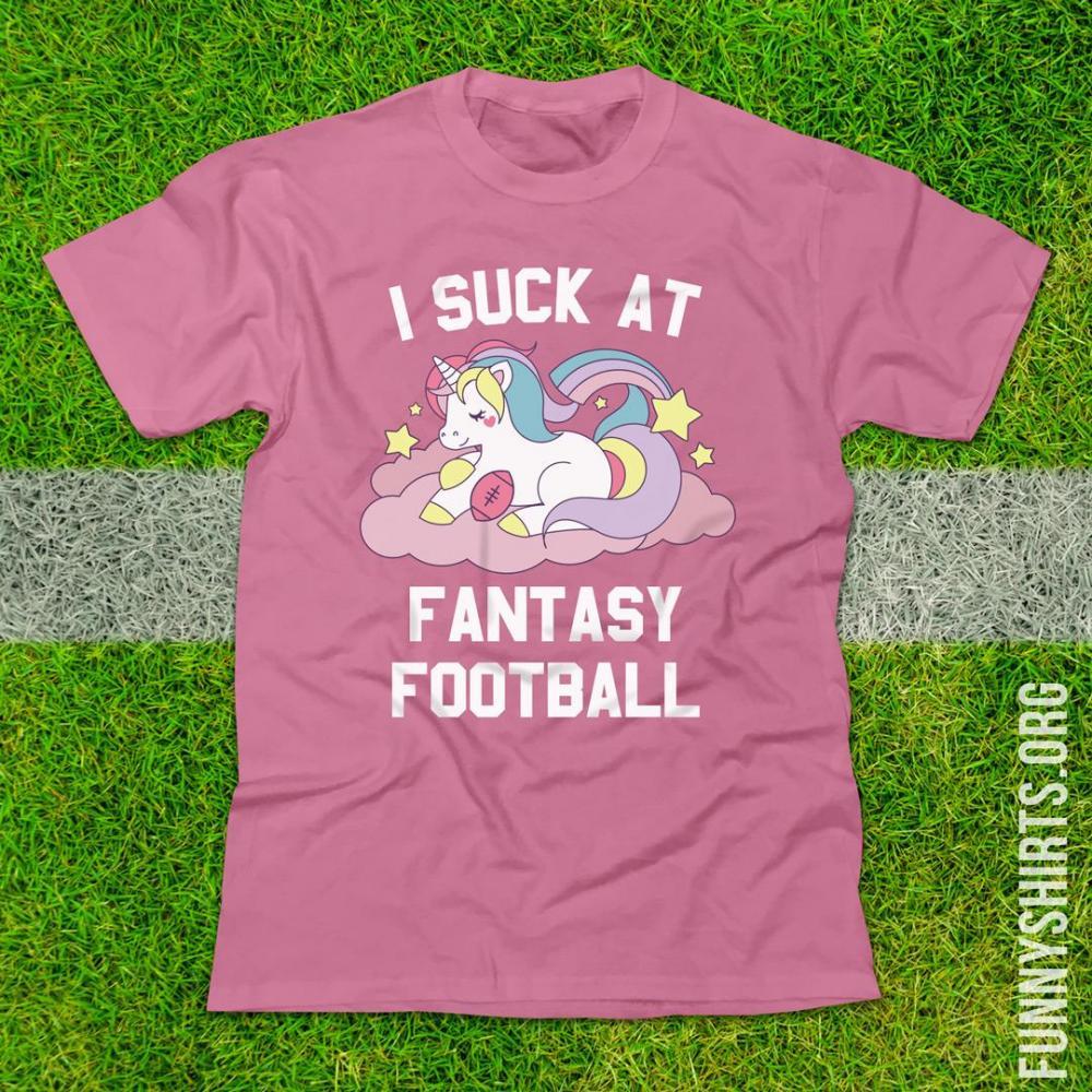 I Suck At Fantasy Football Pink