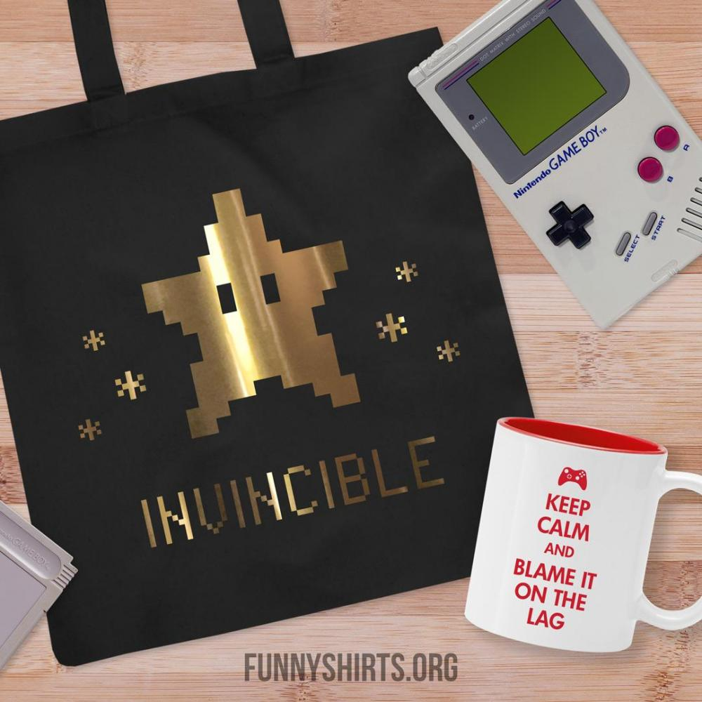 Metallic 8-Bit I Am Invincible