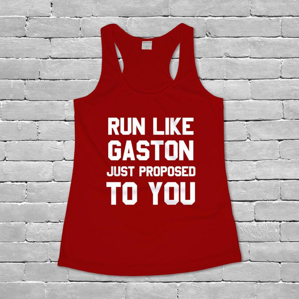 Run Away Like Gaston Is Proposing