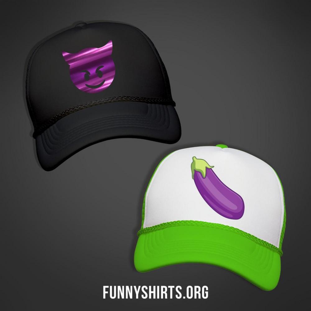 Eggplant Emoji Wink Wink