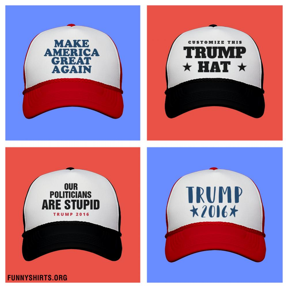 Custom Donald Trump Hat Snapback Trucker Hat bc1e2301de9