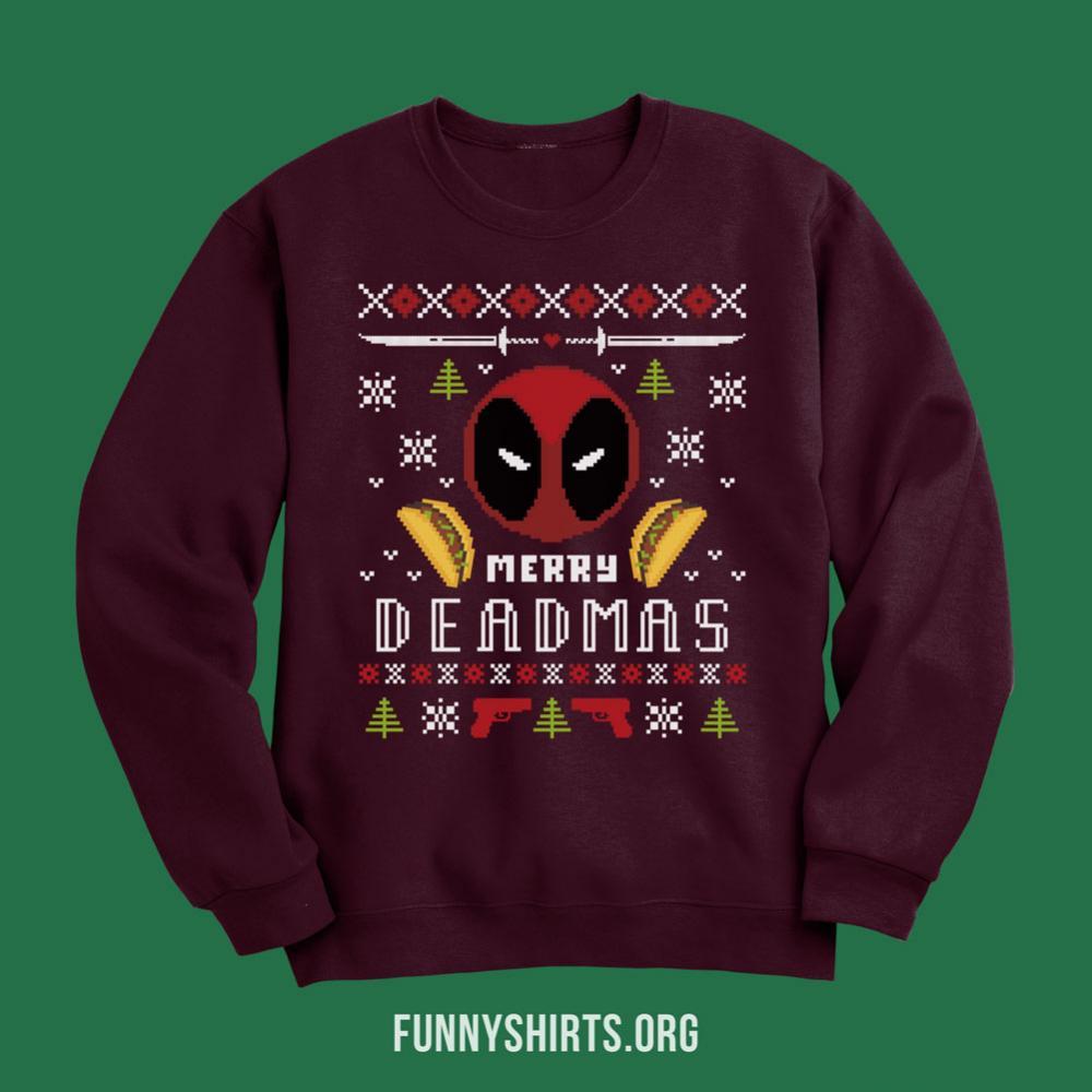 Winter Wonder Deadpool Sweater