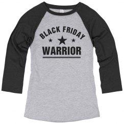 Black Friday Shopping Warrior