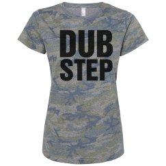 Women Music Tshirts Camo
