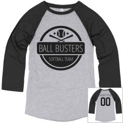 Funny Softball Team Ball Busters