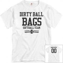 Dirty Ball Bags Softball Team