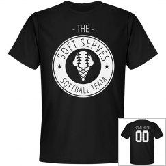 Funny Softball Team Soft Serves