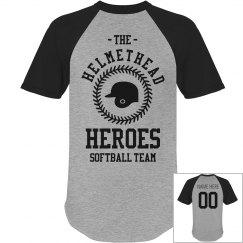 Helmethead Heroes Softball Team