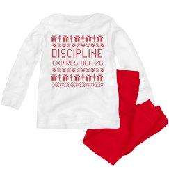 Discipline for Christmas