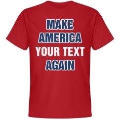 Custom Make America Great Again