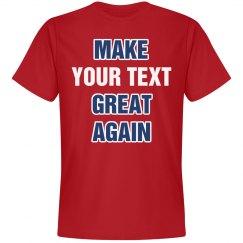 Make Custom Text Great Again