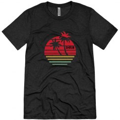 Coconut Tree Sunset Rasta