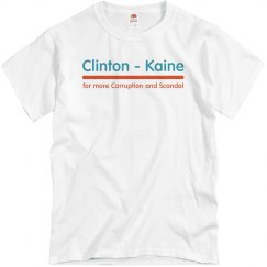 Clinton Kaine Corruption and Scandal